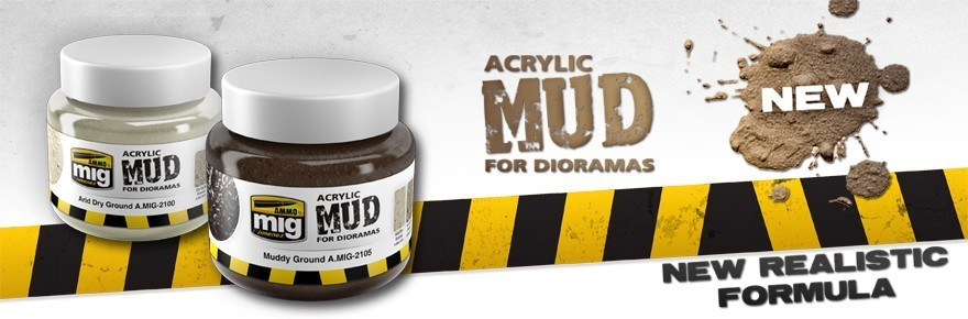 Acrylic Mud for Dioramas