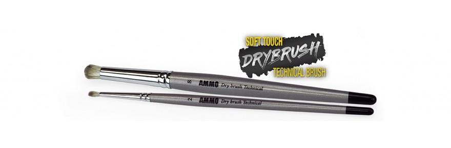 Drybrush Technical Brushes