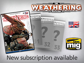 Subscription The Weathering Magazine Issues 29-32 available!