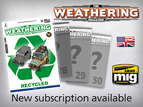 Subscription The Weathering Magazine Issues 27-30 available!