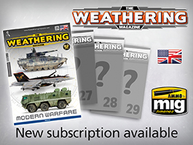 Subscription The Weathering Magazine Issues 26-29 available!