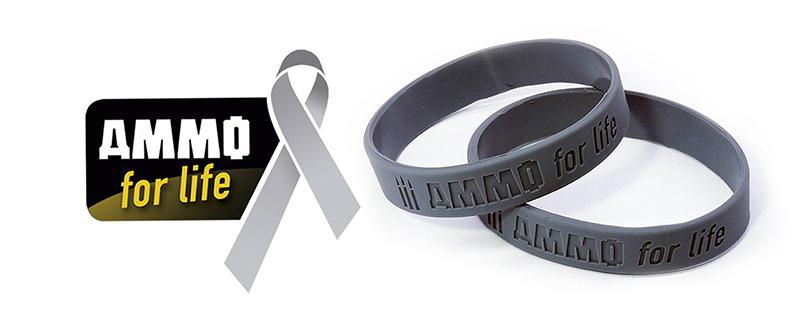 AMMO for life bracelet