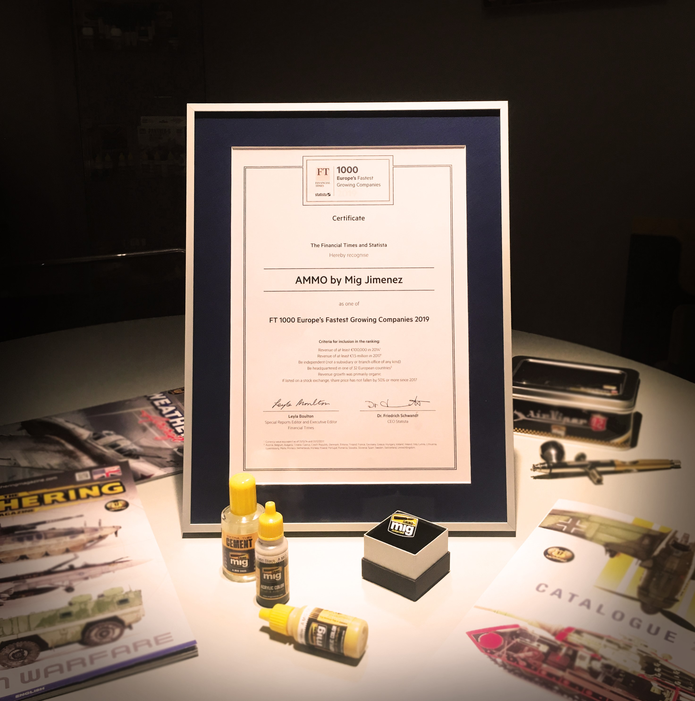 FT1000 Certificate
