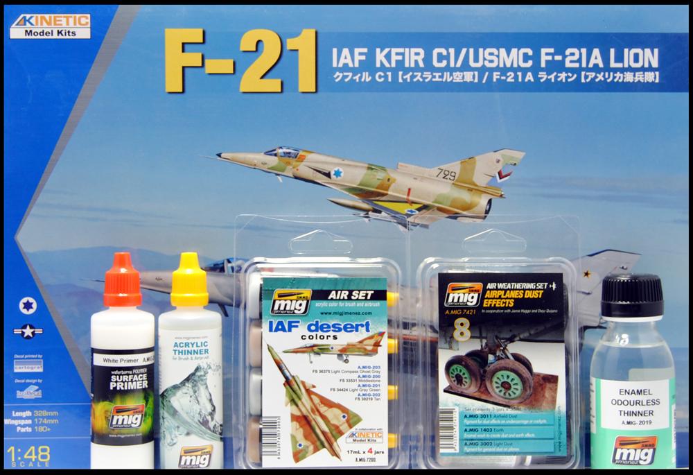 painting Kfir c1 with IAF Acrylic colors by AMMO