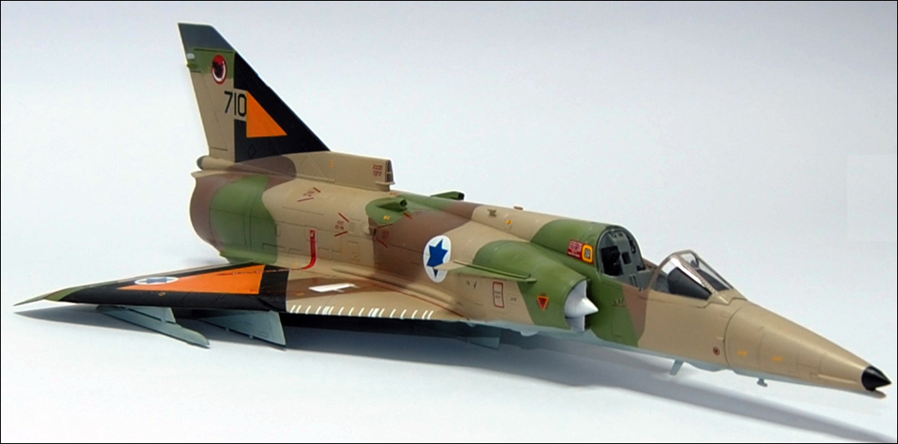 painting Kfir c1 with IAF Acrylic colors by AMMO