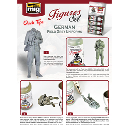 Download Quick Tip - A.MIG-7021 German Field Grey Uniforms