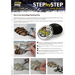 Download Step by Step - Camouflage Masking Putty