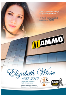 Tribute to Elizabeth Wiese - 1 Year Anniversary