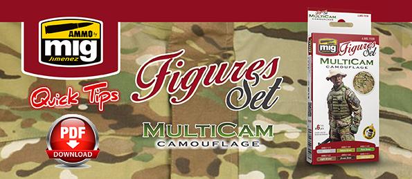 Descargar Quick Tip Multicam Camouflage Set