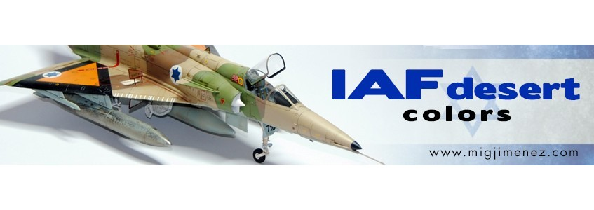 AMMO IAF Acrylic Colors and Kinetic KFIR C1