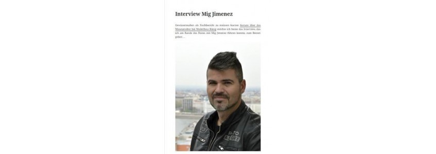 INTERVIEW WITH MIG JIMENEZ